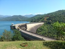 Victoria Dam Royalty Free Stock Photography