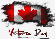 Victoria Day illustration stock