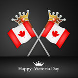 Victoria Day Background Photographie stock libre de droits