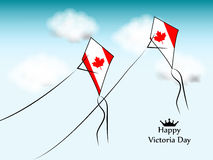 Victoria Day Background. Illustration of elements for Victoria Day royalty free illustration