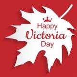 Victoria Day feliz Foto de archivo libre de regalías