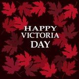 Victoria Day heureuse Photographie stock libre de droits