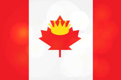 Victoria Day Sticker heureuse Images stock