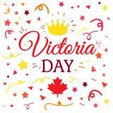 Victoria Day Sticker heureuse illustration libre de droits
