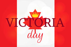 Victoria Day Sticker heureuse Photos stock