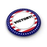 Victoria de la elección Foto de archivo