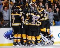 Victoria de los Boston Bruins Fotografía de archivo