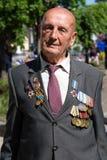 Victoria del desfile en Kiev, Ucrania Fotos de archivo