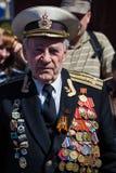 Victoria del desfile en Kiev, Ucrania Fotos de archivo libres de regalías