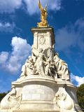 Victoria-Denkmal, Buckingham Palace, London Stockfotografie