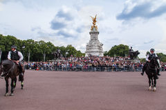 Victoria-Denkmal London Lizenzfreies Stockbild