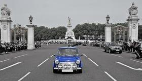 Victoria-Denkmal in London, Vereinigtes Königreich Stockbild