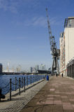Victoria Dock London royaltyfria foton