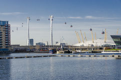 Victoria Dock, London Stock Photography