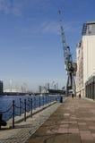 Victoria Dock, London Royalty Free Stock Photos
