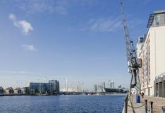 Victoria Dock, London Royalty Free Stock Photography