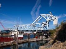 Victoria Draw Bridge Royalty Free Stock Photo
