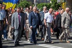 Victoria el 9 de mayo de 2013 Kiev, Ucrania del desfile Fotografía de archivo libre de regalías