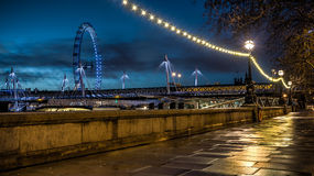 Victoria Embankment Fotografia de Stock Royalty Free