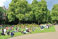 Victoria Embankment Gardens imagens de stock