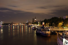 Victoria Embankment, London, England Stock Images
