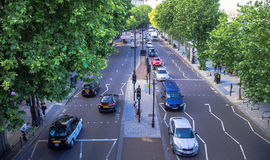 Victoria Embankment Near Underground Embankment Station. London. UK Royalty Free Stock Image
