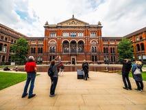 Victoria en Albert Museum in Londen, hdr royalty-vrije stock foto's