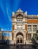 Victoria en Albert Museum in Londen (hdr) royalty-vrije stock afbeeldingen