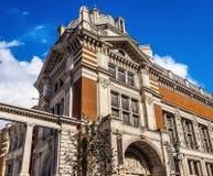 Victoria en Albert Museum in Londen (hdr) royalty-vrije stock afbeelding