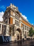 Victoria en Albert Museum in Londen (hdr) stock foto