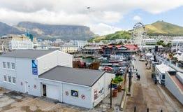 """Victoria en Albert Waterfront †""""Cape Town, Zuid-Afrika Stock Afbeelding"""