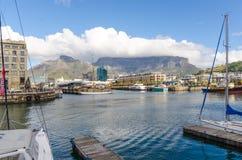 """Victoria en Albert Waterfront †""""Cape Town, Zuid-Afrika Stock Foto's"""