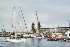 Victoria en Albert Waterfront V&A Stock Fotografie