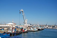 Victoria en Alfred Waterfront, Cape Town, Zuid-Afrika Stock Foto