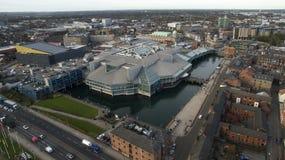 Victoria esquadra, Kingston Upon Hull, equitação do leste de Yorkshire imagem de stock royalty free
