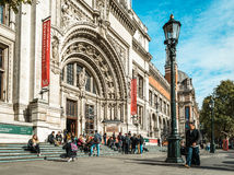 Victoria et Albert Museum à Londres, R-U Photo libre de droits