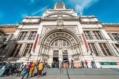 Victoria et Albert Museum à Londres, R-U Images libres de droits