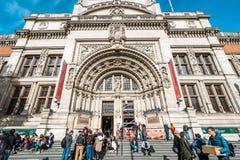 Victoria et Albert Museum à Londres, R-U Image libre de droits