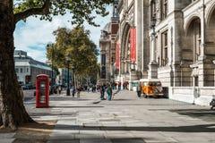 Victoria et Albert Museum à Londres, R-U Photographie stock libre de droits