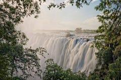 Victoria Falls,赞比亚 免版税库存照片