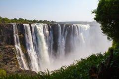 Victoria Falls 2, África do Sul - em novembro de 2013 Imagem de Stock Royalty Free
