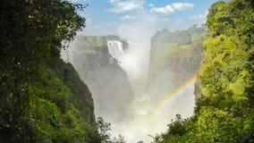 Victoria Falls Африка видеоматериал