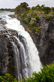 Victoria Falls с туманом от воды Стоковое Изображение RF