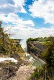 Victoria Falls с туманом от воды Стоковые Фото