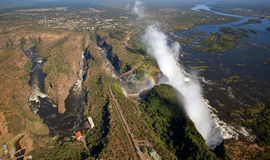Victoria falls Stock Photography