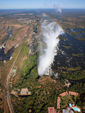 Victoria Falls 免版税库存图片