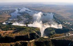 Victoria Falls Royaltyfri Bild