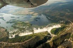 Victoria Falls Arkivfoto