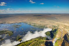 Victoria Falls royalty free stock photos