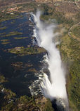 Victoria Falls Stock Afbeelding